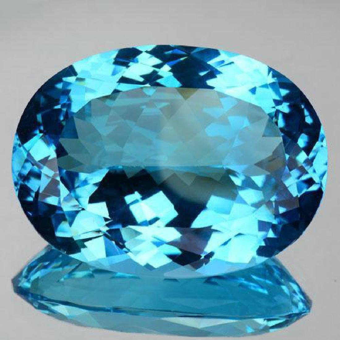 Museum Qulaity 84.99cts AAA Swiss Blue Topaz