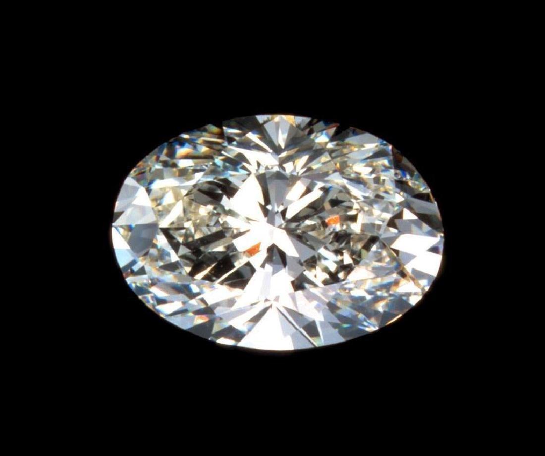 1.25 ct Oval Brilliant Cut BIANCO Diamond