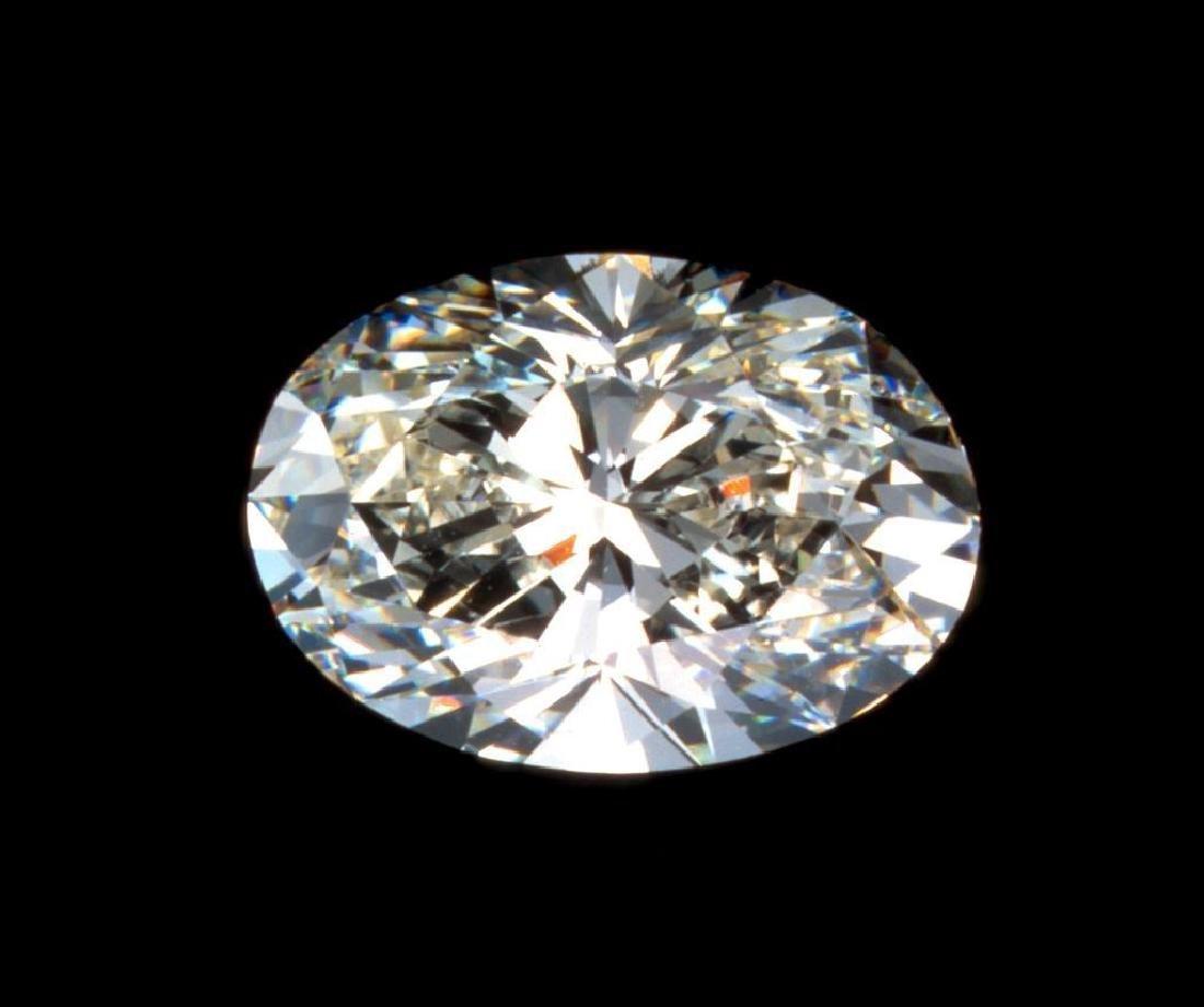 GIGANTIC! 16 ct Oval Cut BIANCO Diamond