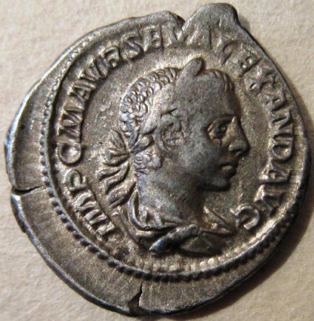 Roman Silver Denarius Coin ( 222-235 AD )