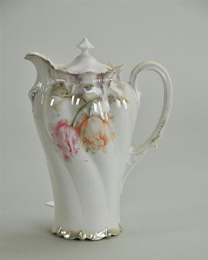 Victorian R.S. Prussia Chocolate Pot