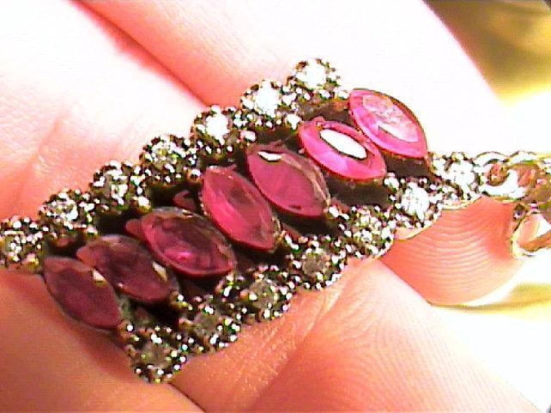 Ruby & White Sapphire Pendant