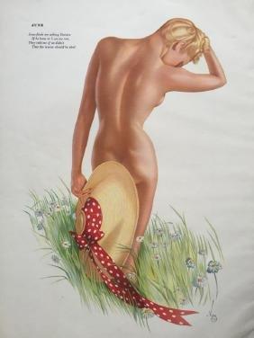 1942 Esquire Magazine Varga Girl Pin Up Prints