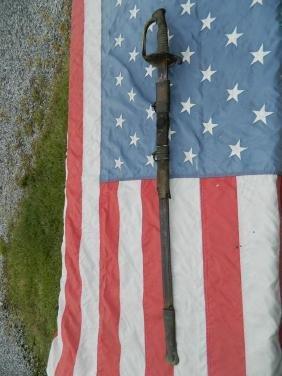 Battlefield Found Civil War Staff Officer's Sword
