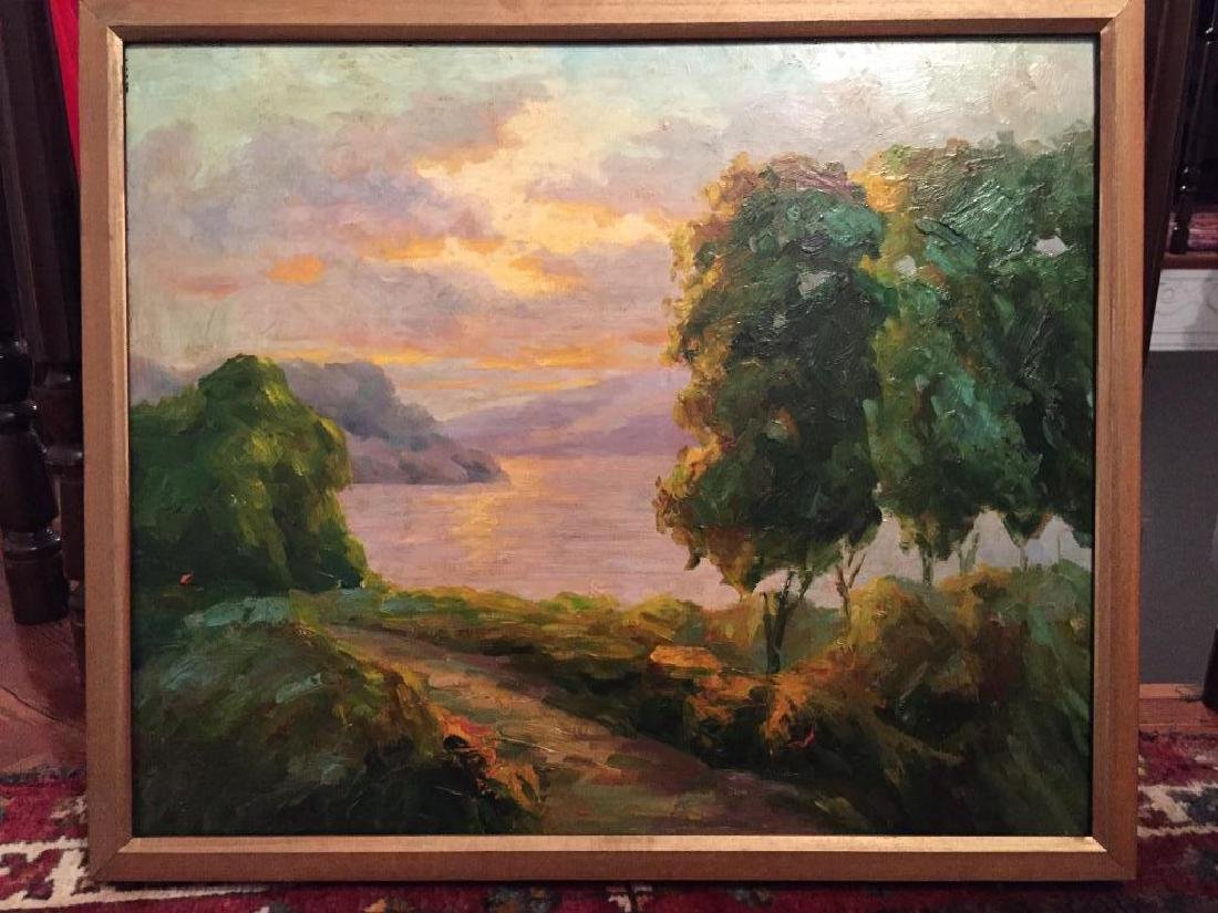 Impressionist Landscape Oil Painting