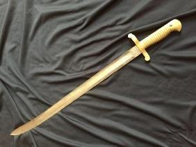 c1860's Civil War Sword Bayonet