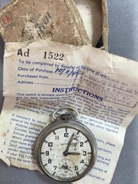 Rare 1940's British Kelton Pocket Watch