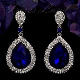 Swarovski Crystal Rhinestone Costume Jewelry Earrings