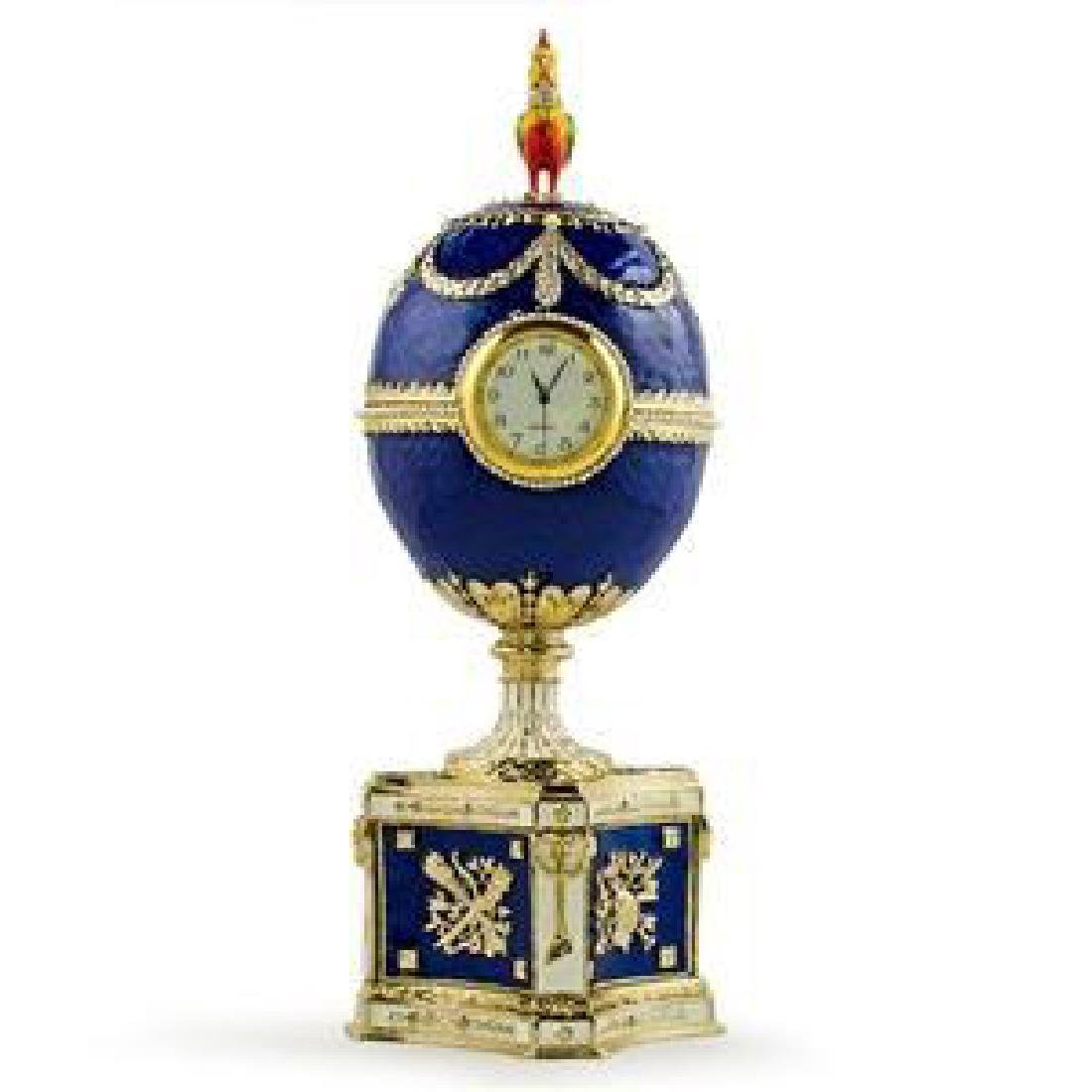 Faberge Inspired 1904 Kelch Chanticleer Russian Faberge