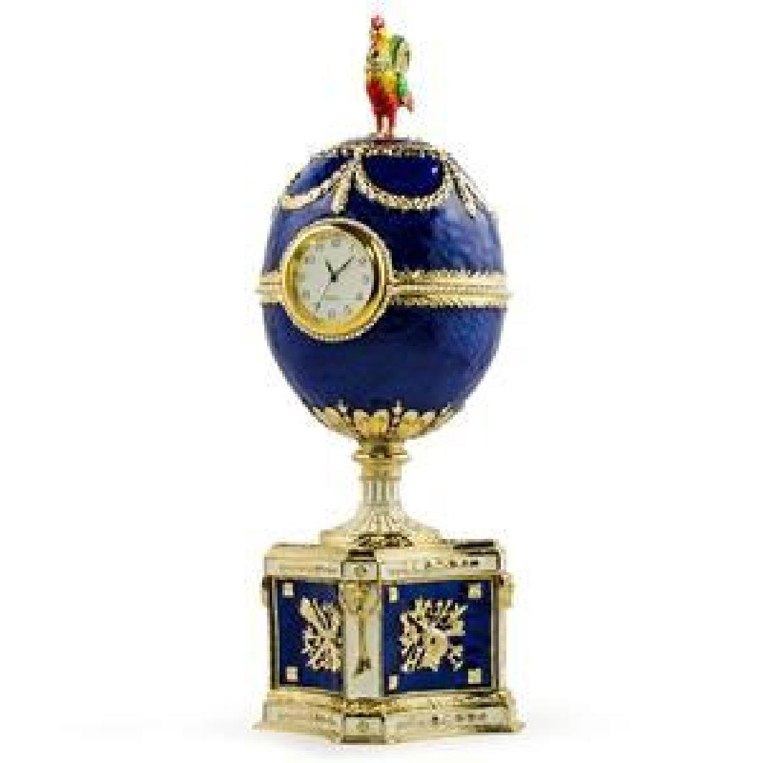 Faberge Inspired 1904 Kelch Chanticleer Russian Faberge - 2