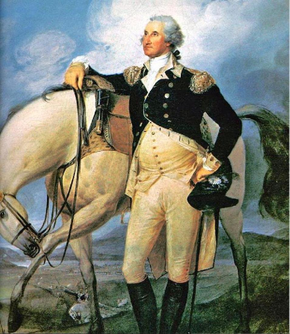 George Washington, Extraordinary oil painting