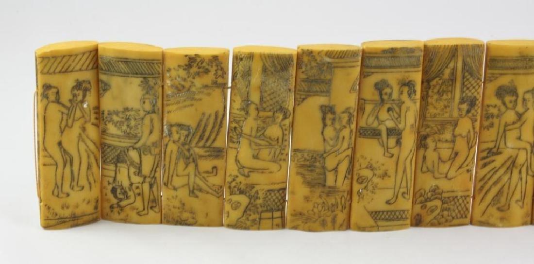 Vintage Chinese Erotic Scenes Tablets - 2