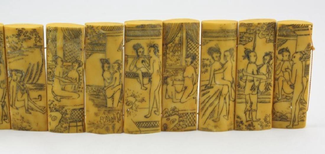 Vintage Chinese Erotic Scenes Tablets - 3
