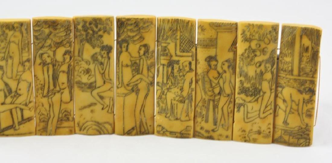 Vintage Chinese Erotic Scenes Tablets - 6