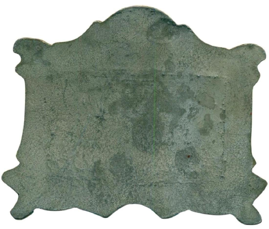 "Vintage-034 ""The Last Supper"" Copper on Bronze Plaque - 5"