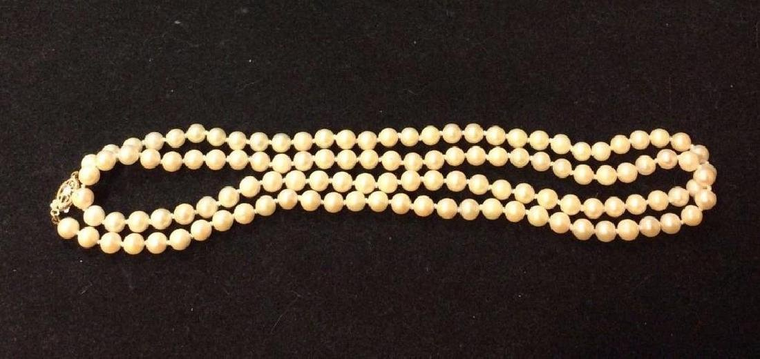 Vintage-14k-yellow-clasp-quality-pearl-necklace