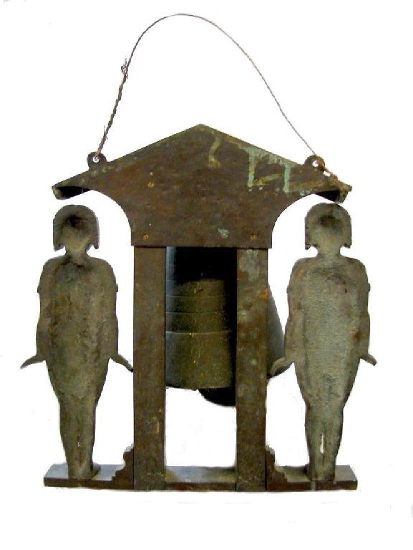 Egyptian Theme Bronze Wind Chime - 3
