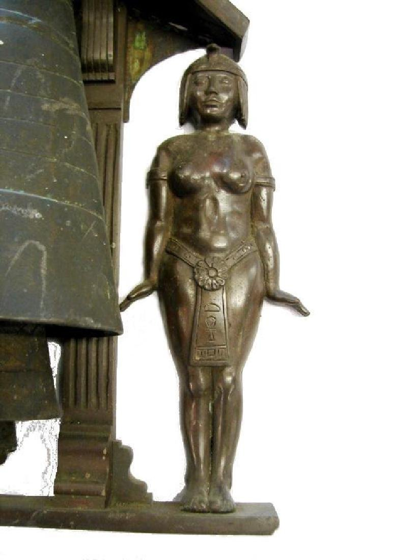 Egyptian Theme Bronze Wind Chime - 5