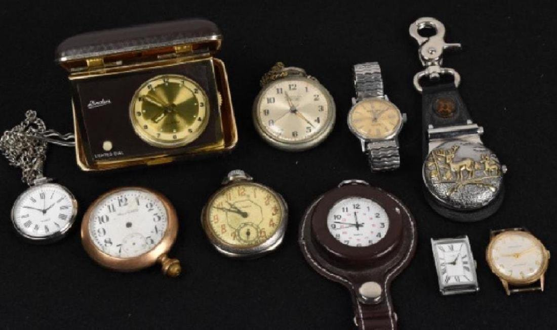 Antique Pocket Watch Timepiece Collection