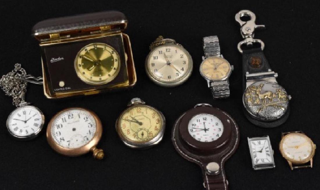 Antique Pocket Watch Timepiece Collection