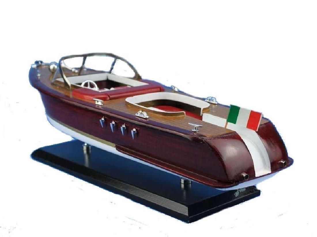 Wooden Riva Aquarama Model Speed Boad 20''