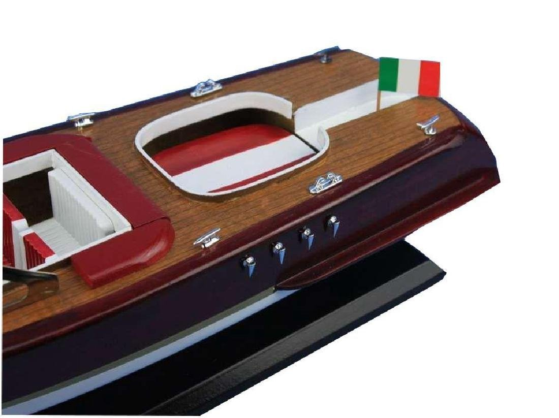 Wooden Riva Aquarama Model Speed Boad 20'' - 3