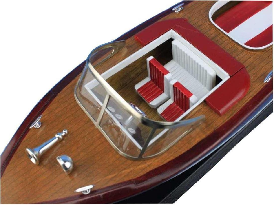 Wooden Riva Aquarama Model Speed Boad 20'' - 4