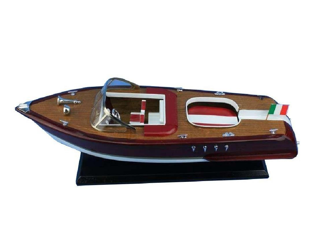 Wooden Riva Aquarama Model Speed Boad 20'' - 6