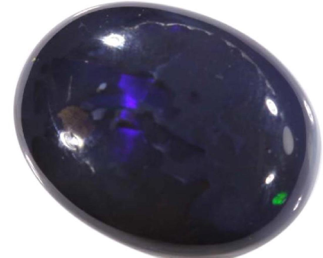 8.2ct Australian Lightning Ridge Black Opal - 2