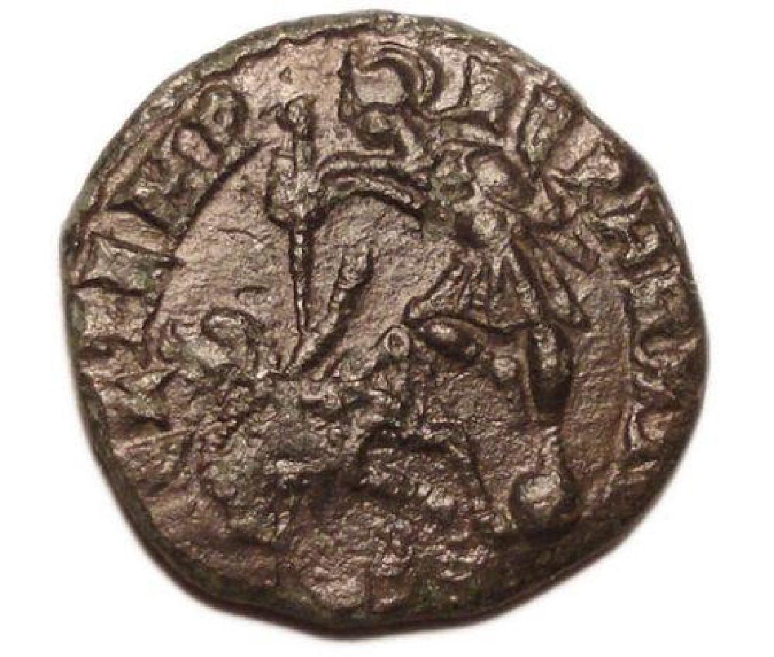 Constantius Ii 337-361 Ad ? Nummus Roman Bronze Coin - 2
