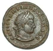 Ancient Roman Bronze Coin Constantine Ii