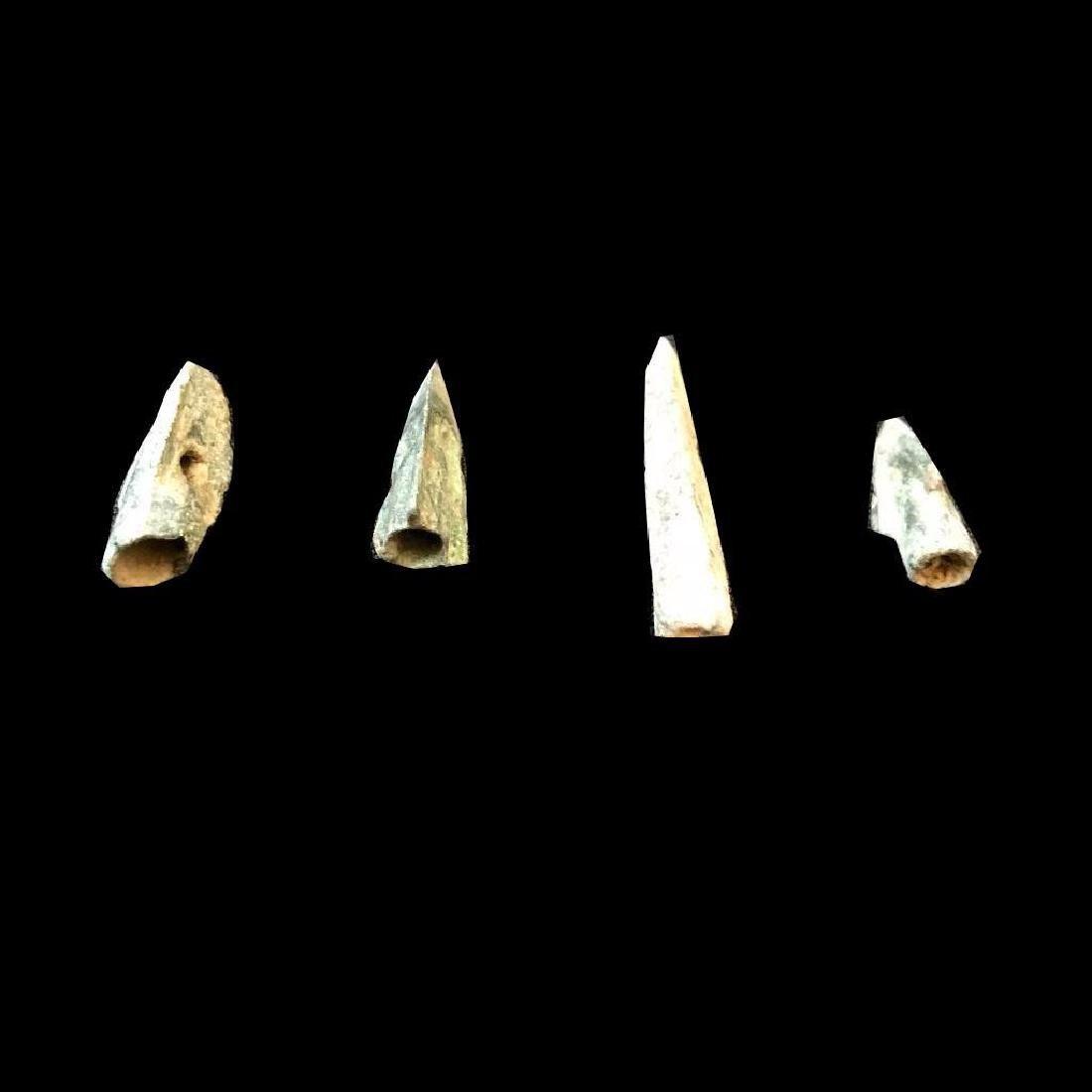 4thc B.C. Ancient Greek Punic Arrowheads - 2
