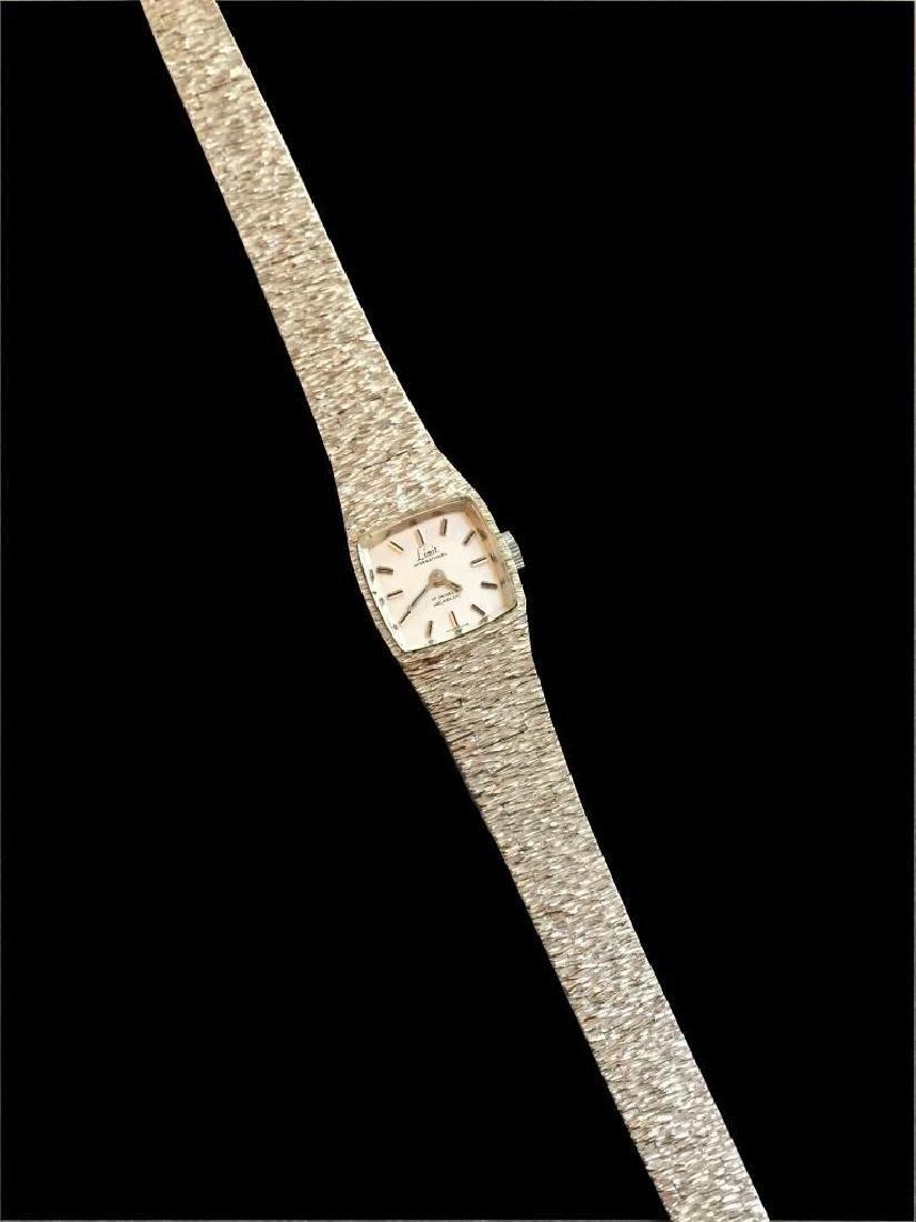 Vintage 1970's Silver Limit Ladies Bracelet Watch - 3