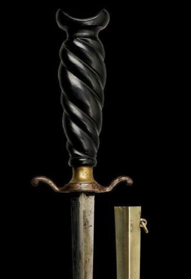 19thc Museum Quality Armor Piercing Dagger - 3