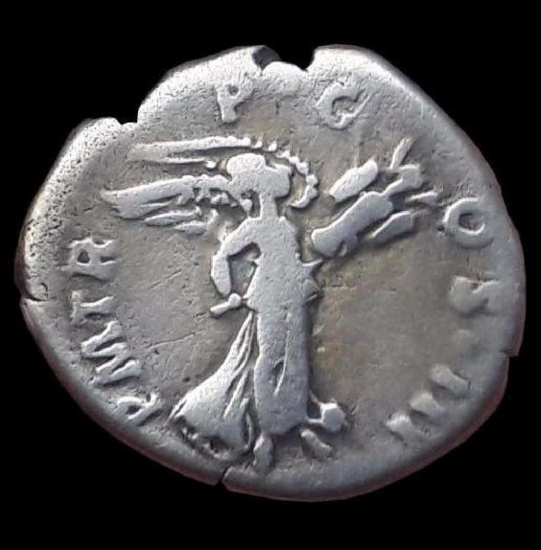 Roman Denarius Silver Coin Original Hadrianus 117-138