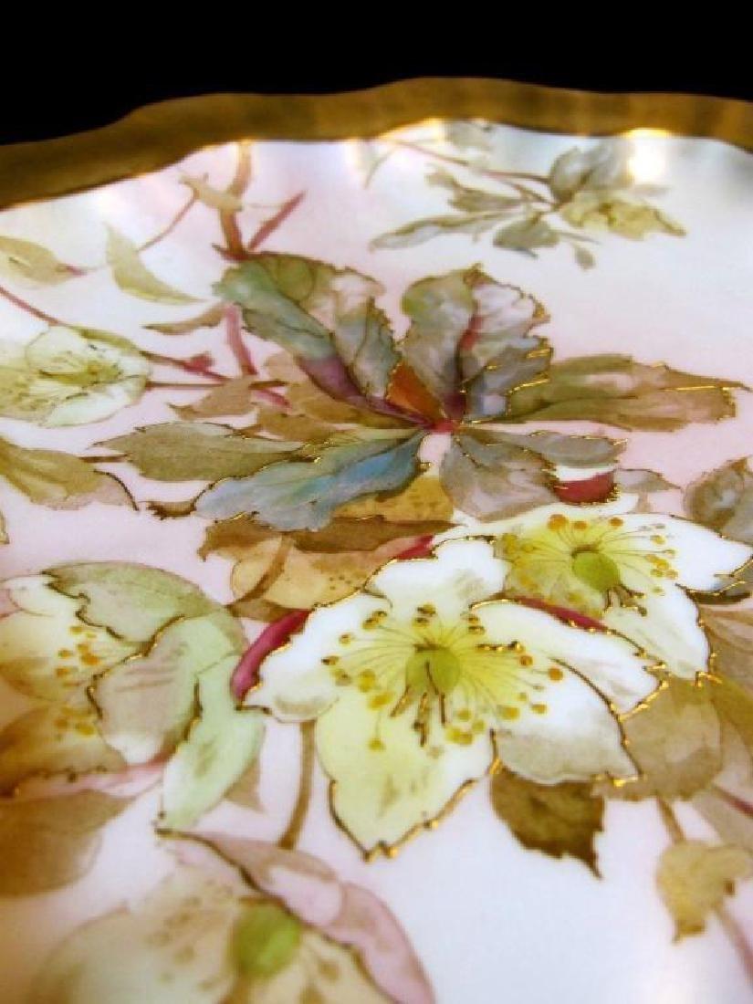 19thc Royal Doulton Bailey Banks & Biddle Plate - 2
