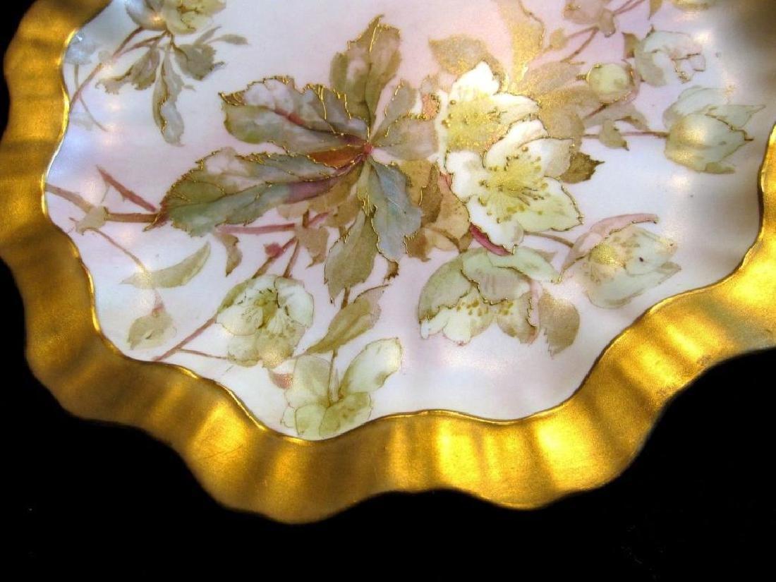 19thc Royal Doulton Bailey Banks & Biddle Plate - 3