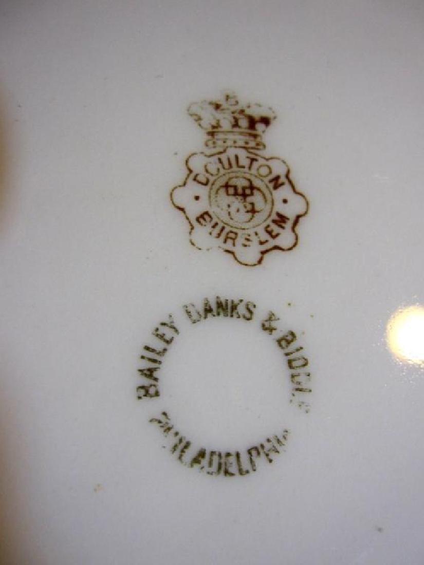 19thc Royal Doulton Bailey Banks & Biddle Plate - 6