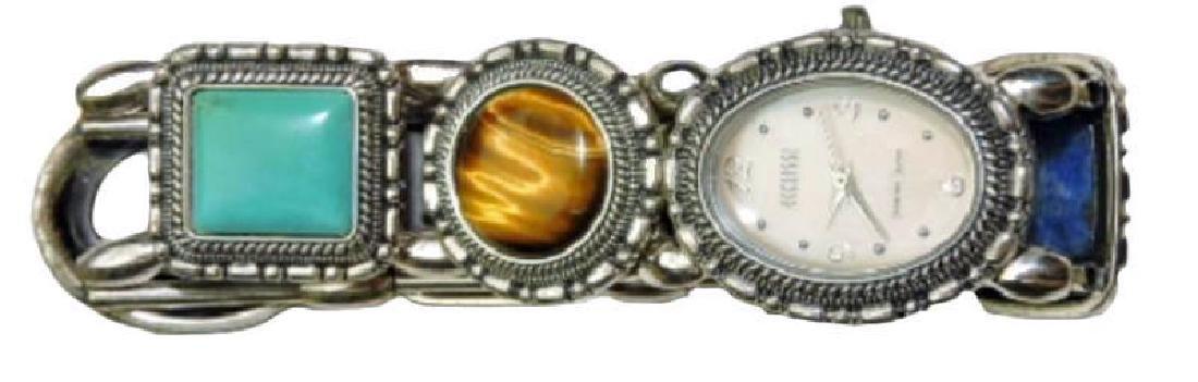 "Very Rare Ladies Fine ""art Watch"" By Ecclissi. - 2"
