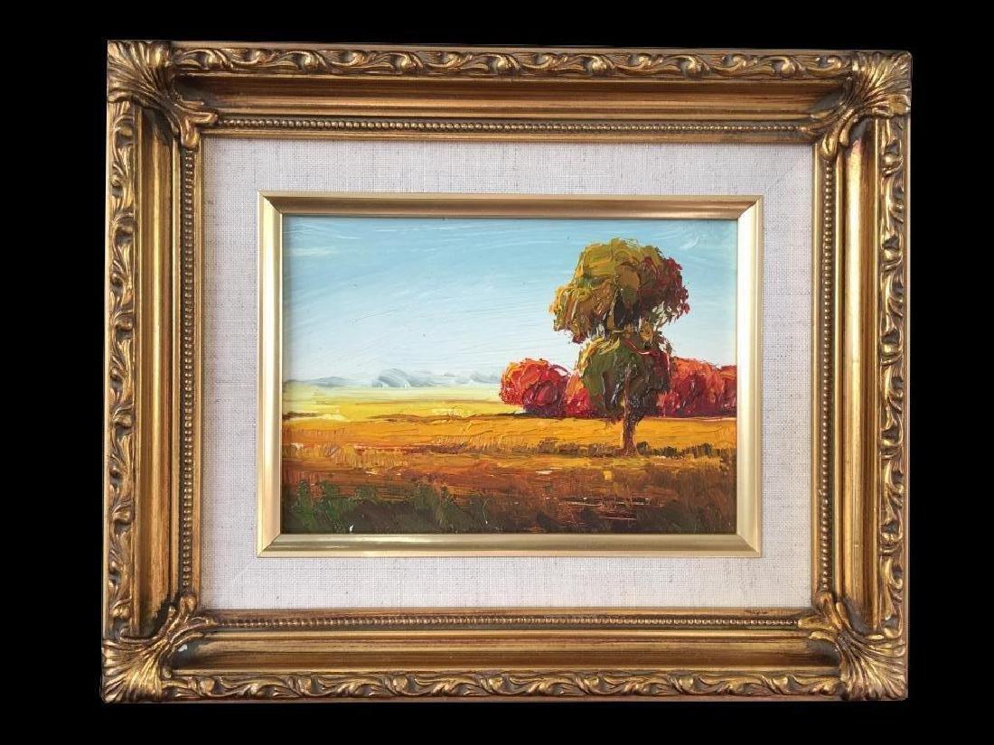 20thc Impressionism, Landscape Oil Painting