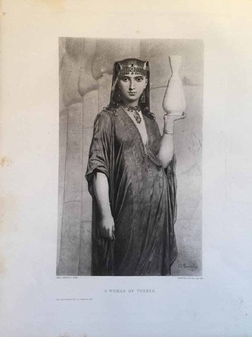 1880's Photogravure, A Woman Of Thebes - 2