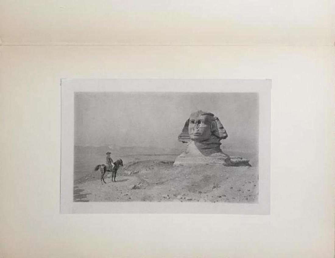 1890's Photogravure, Oedipus, Napoleon & Sphinx - 2