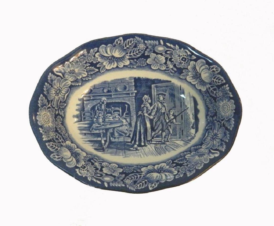 Liberty Blue Staffordshire Ironstone Bowl