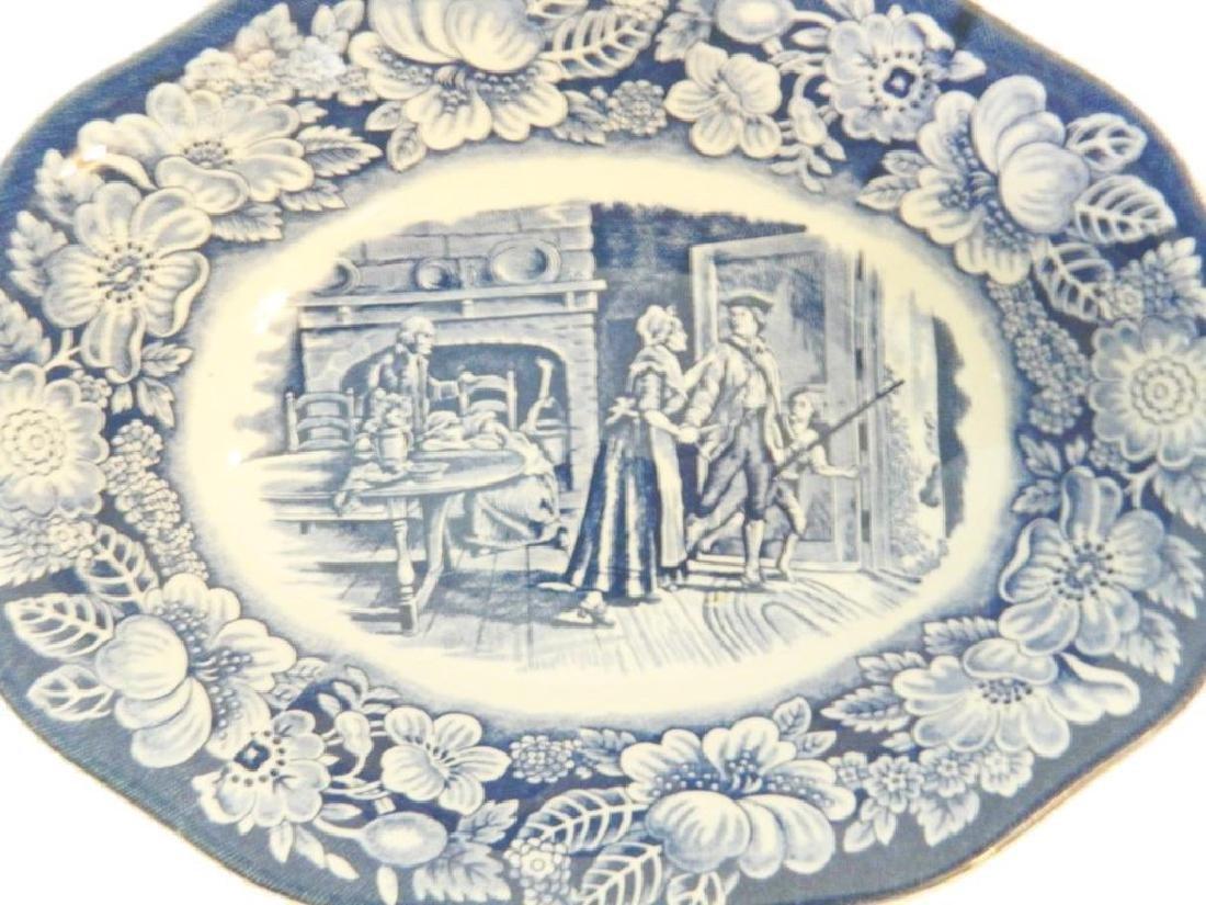 Liberty Blue Staffordshire Ironstone Bowl - 2