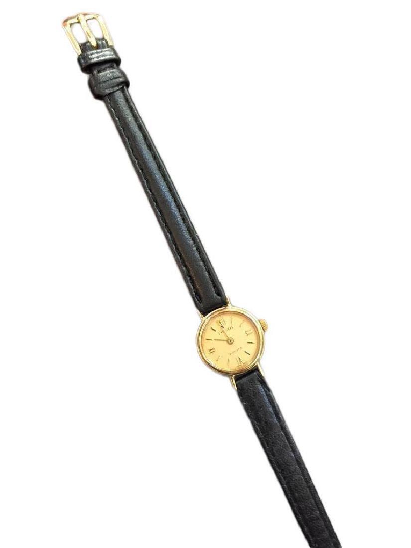 Ladies 9kt Gold Tissot Luxury Wristwatch