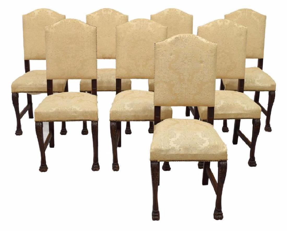 (8) Italian Renaissance Revival Dining Chairs