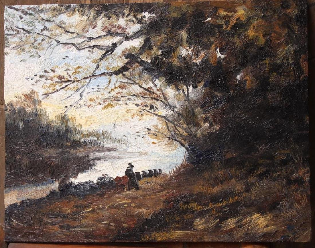 Oil Painting - Fall Landscape