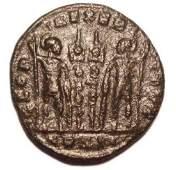 Constantius Ii 330-348 Ad ® Nummus Roman Bronze Coin