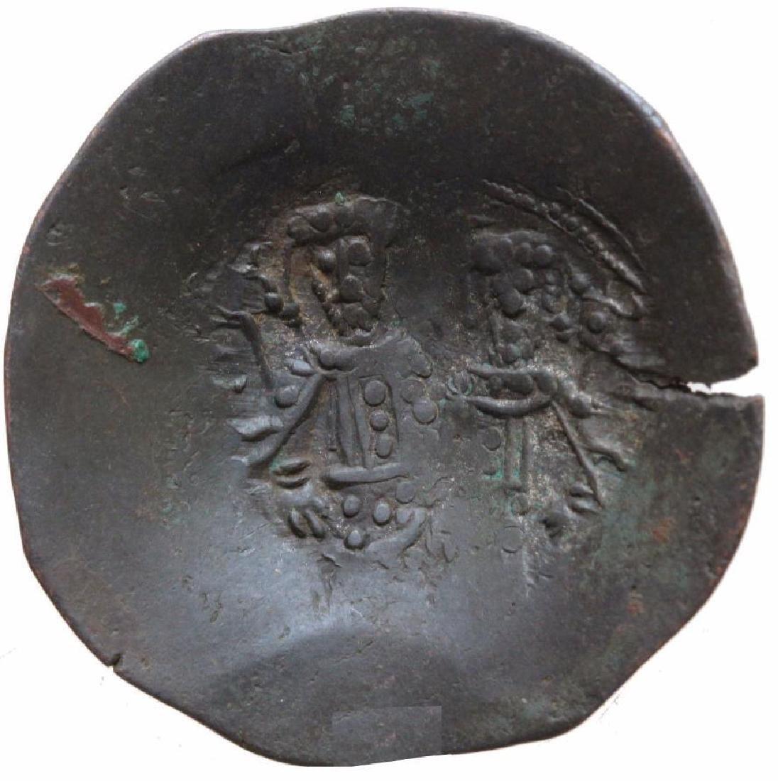 Byzantine Empire Alexius Iii Angelus Comnenus Billon