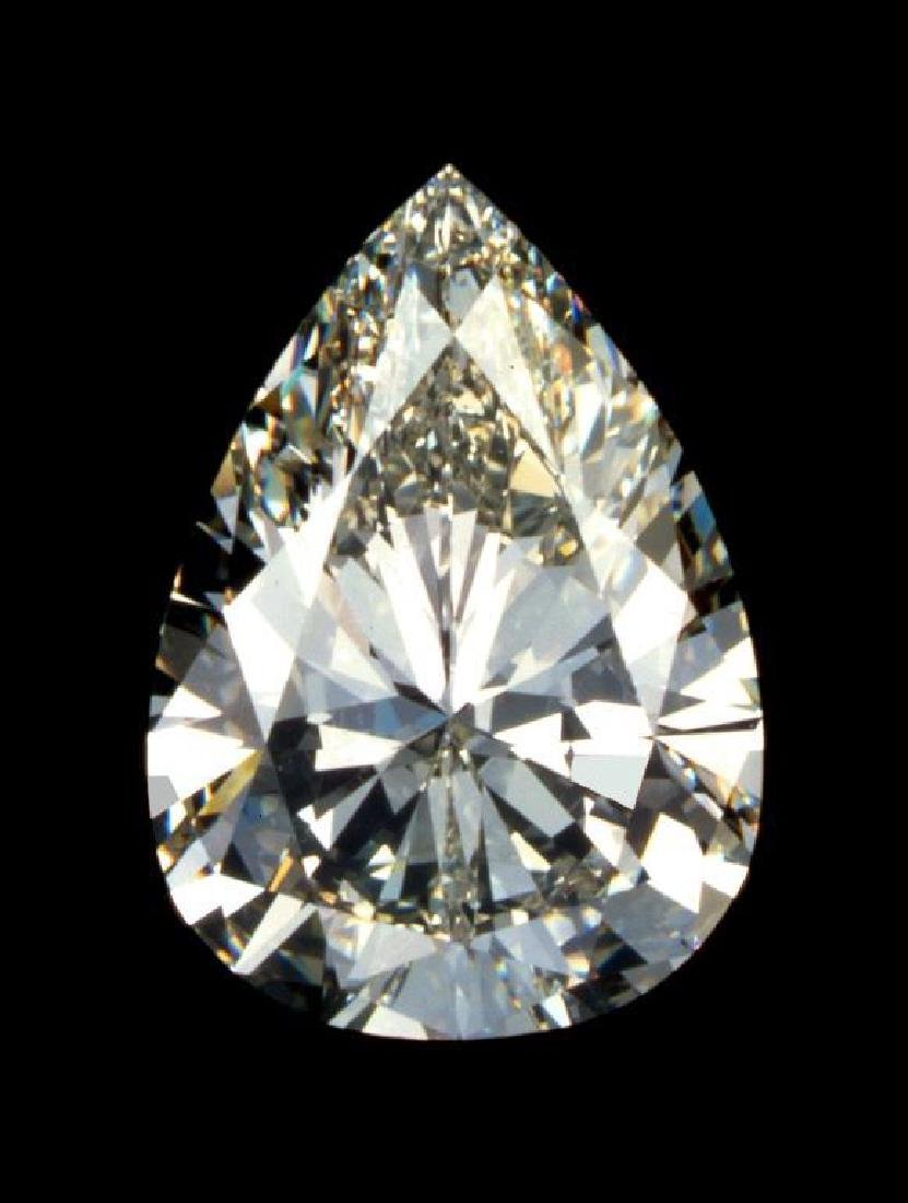 Gigantic! 20ct Pear Cut BIANCO Diamond
